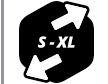 Sizing S-XL