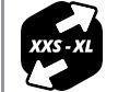Sizing XXS-XL